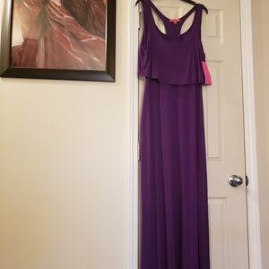 Betsey Johnson  Floor Length Maxi Dress
